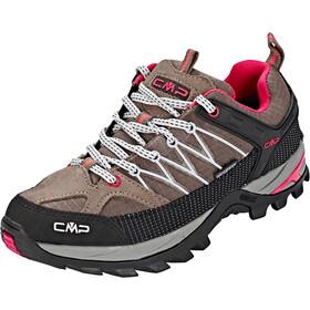 CMP Campagnolo Rigel WP Chaussures de trekking basses Femme, tortora-ice